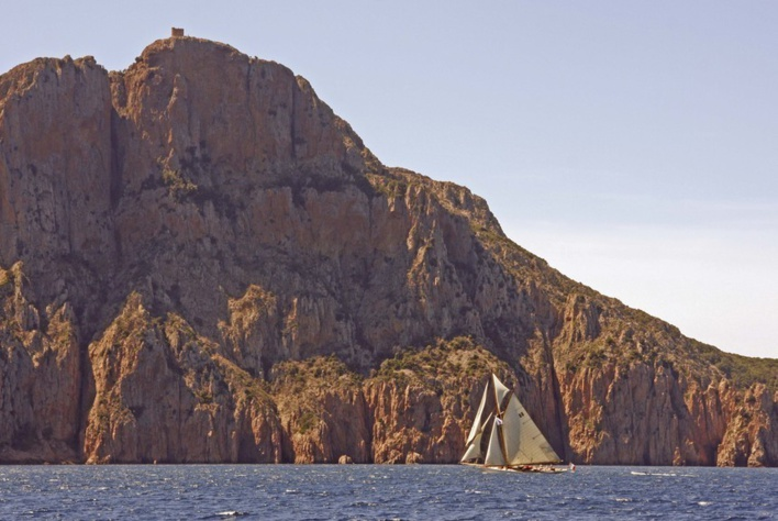 La Corsica Classic 2010 Moonbeam Of Fife - Capo Rosso photo Thibaud Assante