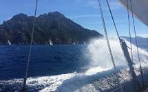 Lundi 25 août J1 Girolata-Ajaccio Retard et faux départ