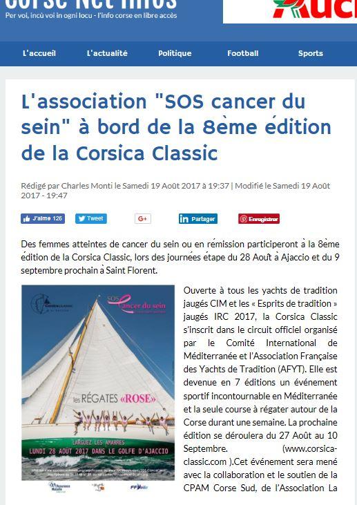 Corse Net Infos, 19 août