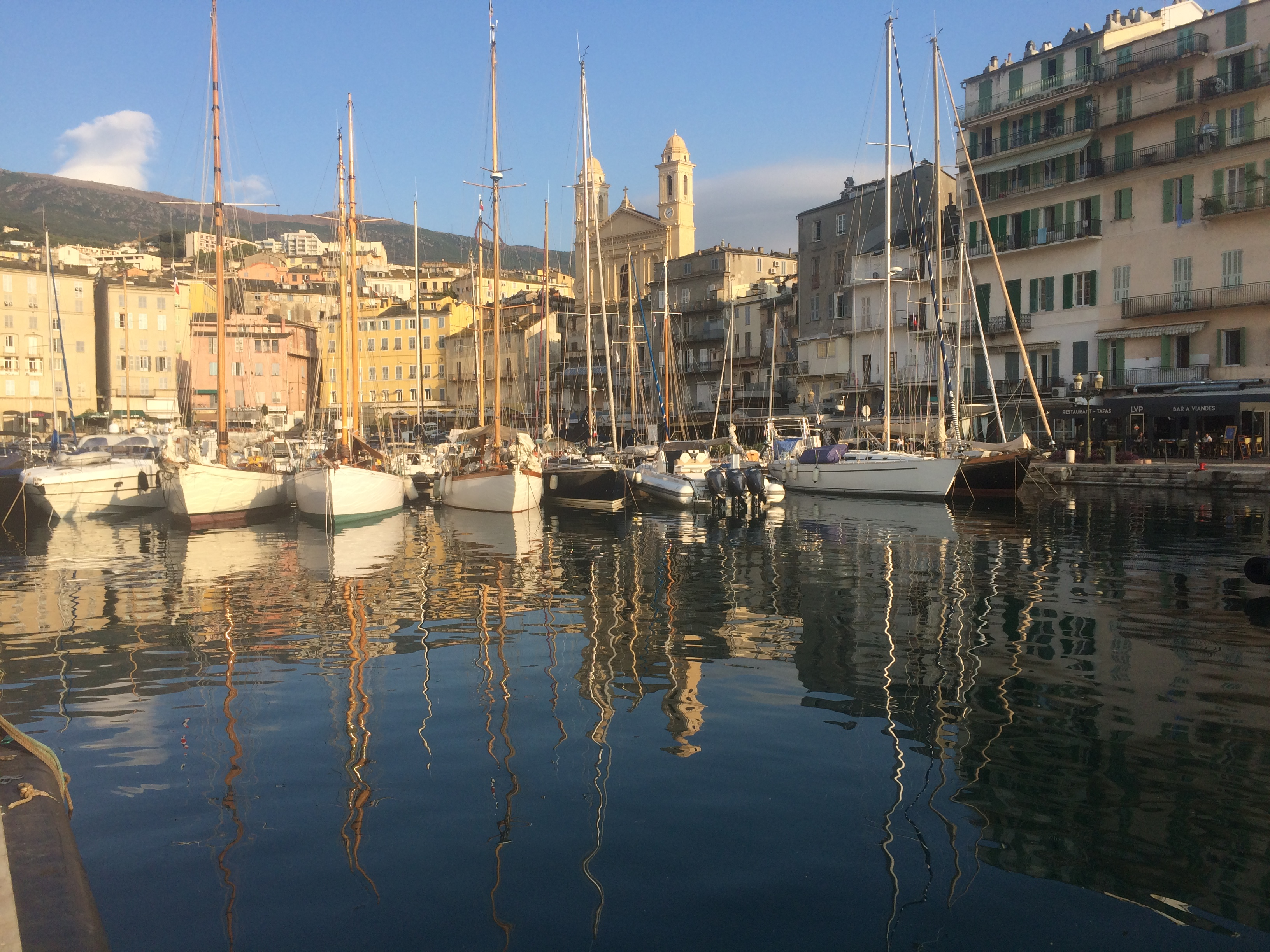 Bastia vieux port Photo Thibaud Assante