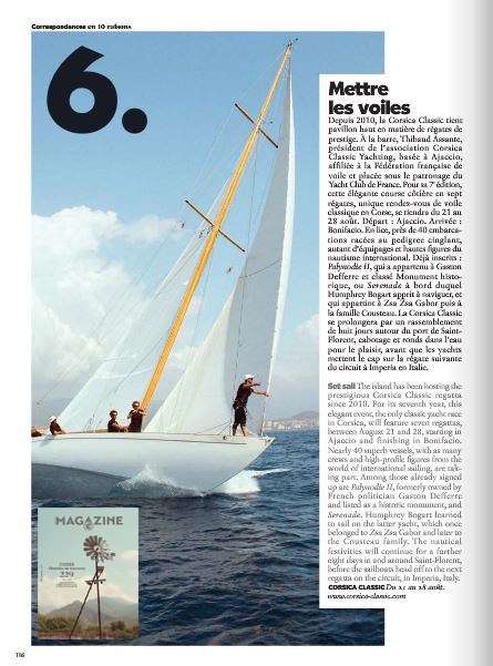 La revue de presse Corsica Classic 2016 / Media Coverage 2016