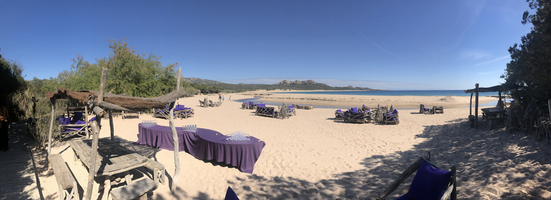 Domaine de Murtoli restaurant La Plage photo Thibaud Assante DR