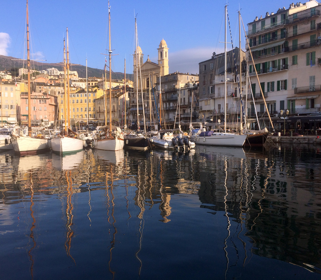 Bastia Vieux Port SY Vistona, SY Morwenna, SY Rose Joan photo Thibaud Assante DR