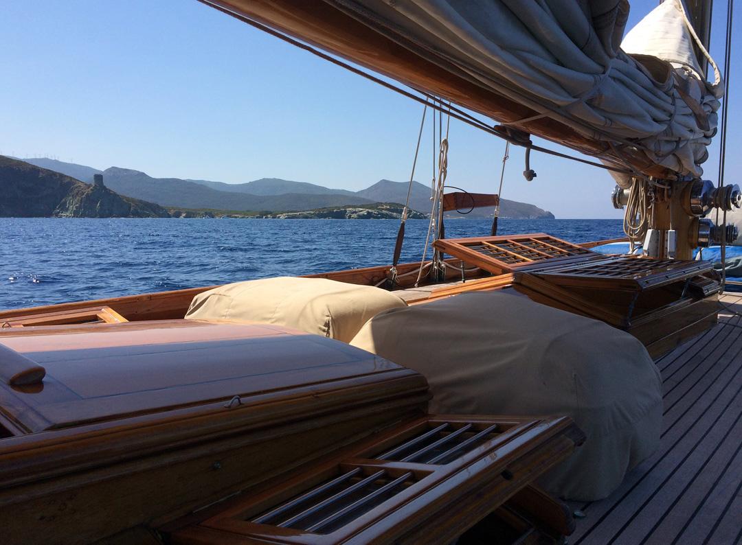 SY Hallowe'en Cap Corse photo Thibaud Assante DR