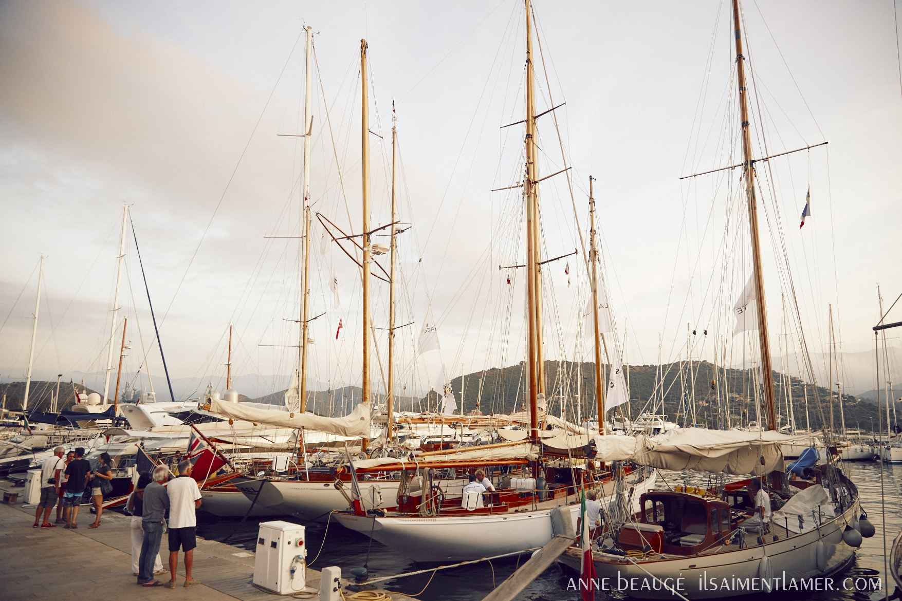 Port de Saint-Florent Corsica Classic 2016 photo Anne Beaugé