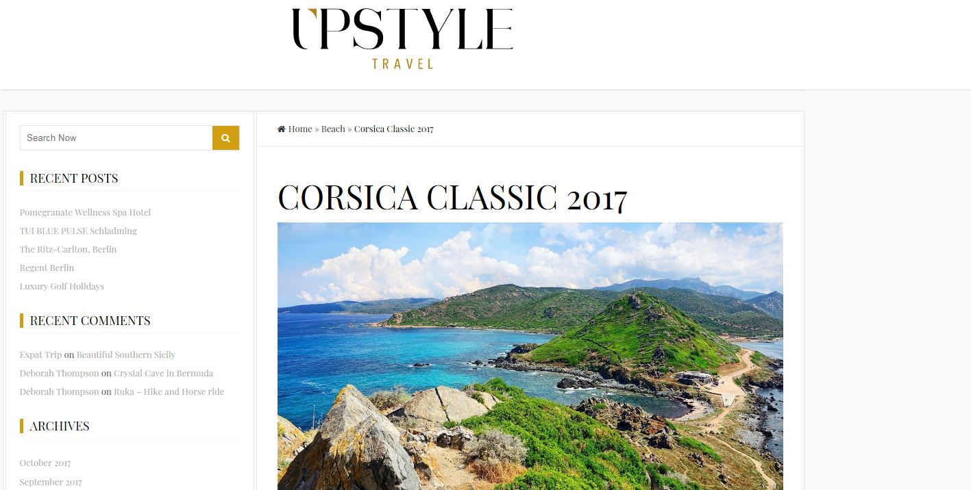 LA REVUE DE PRESSE CORSICA CLASSIC 2017 / International MEDIA COVERAGE 2017