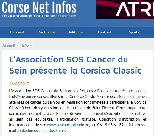 Corse Net Infos, 26 août