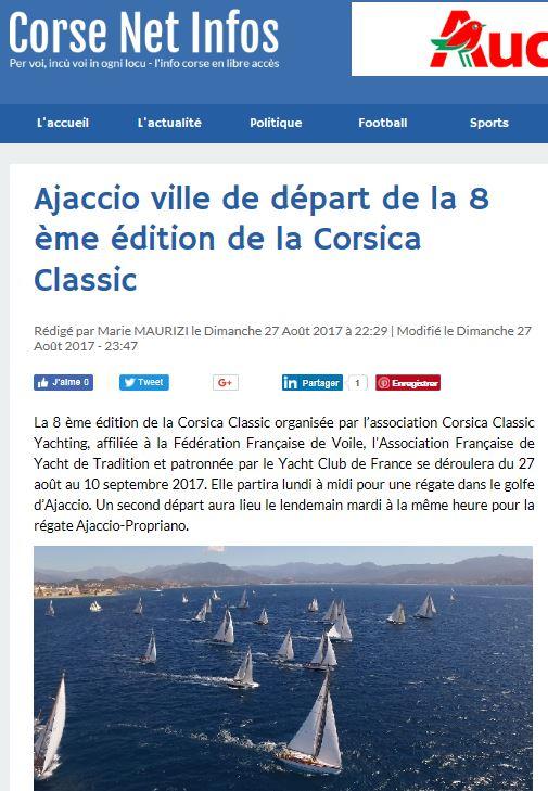 Corse Net Infos, 27 août