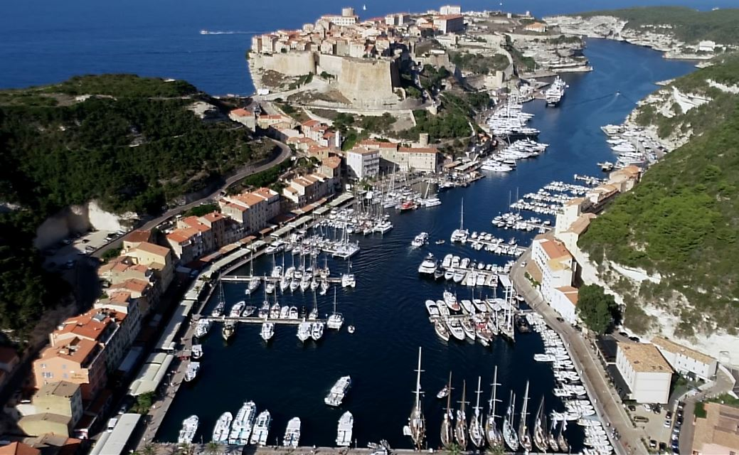 CC 2018 Port de Bonifacio photo JP Pyrée by drone DR