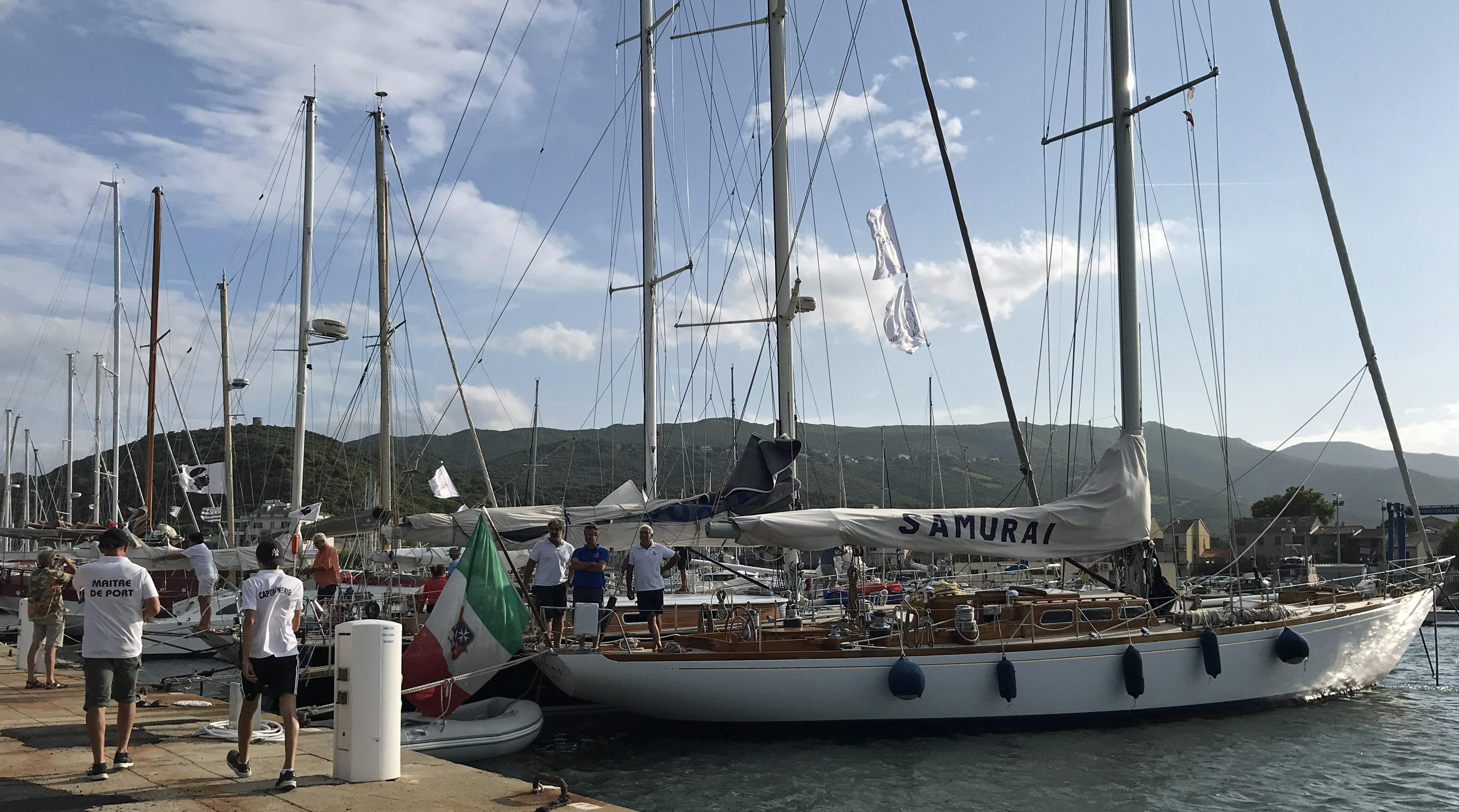 CC 2018 Bastia - Macinaggio la flotte au port de Macinaggio photo Thibaud Assante DR