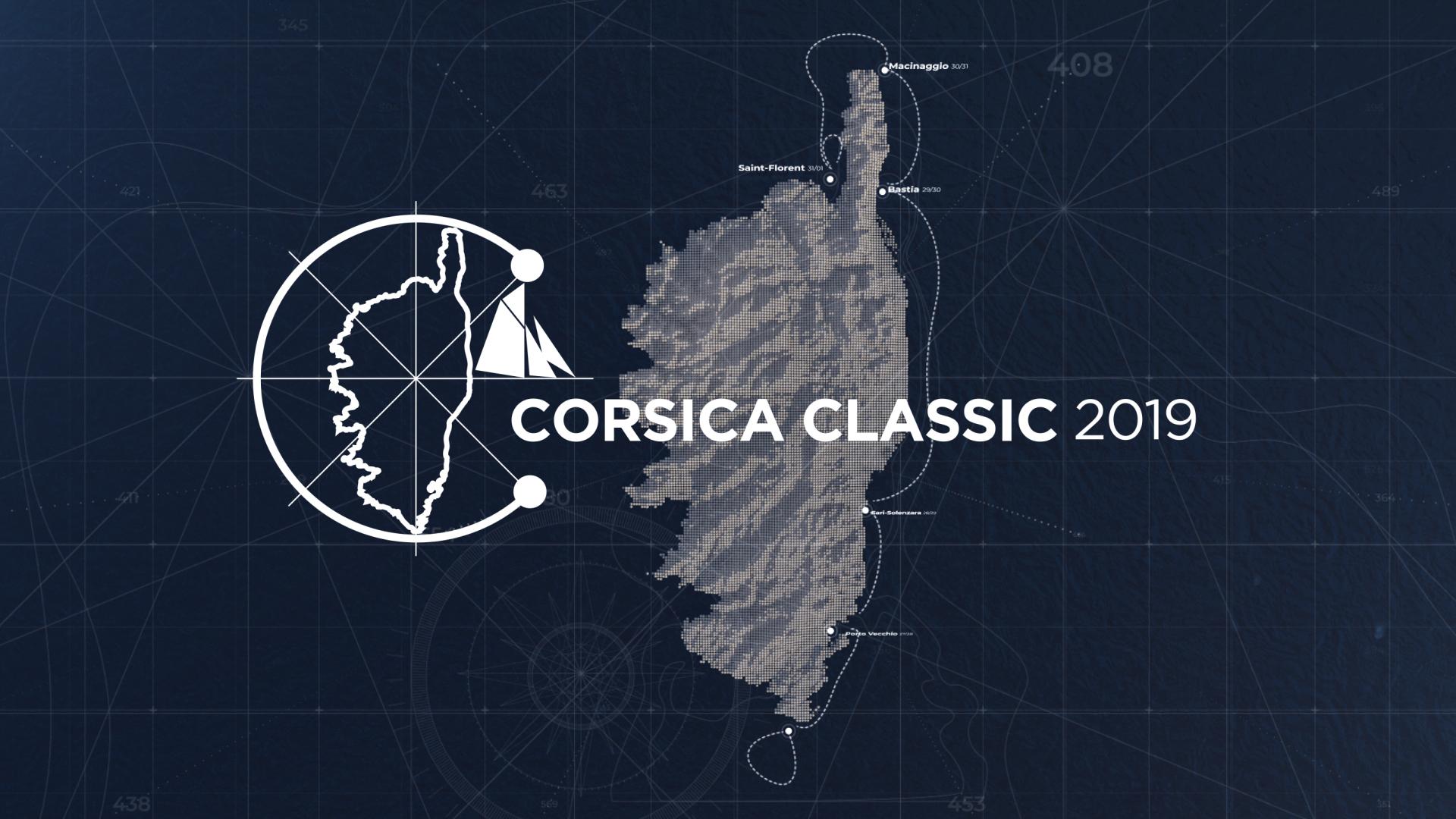 Le parcours 2019 de la 10 ème Corsica Classic Motion design Mikimo DR
