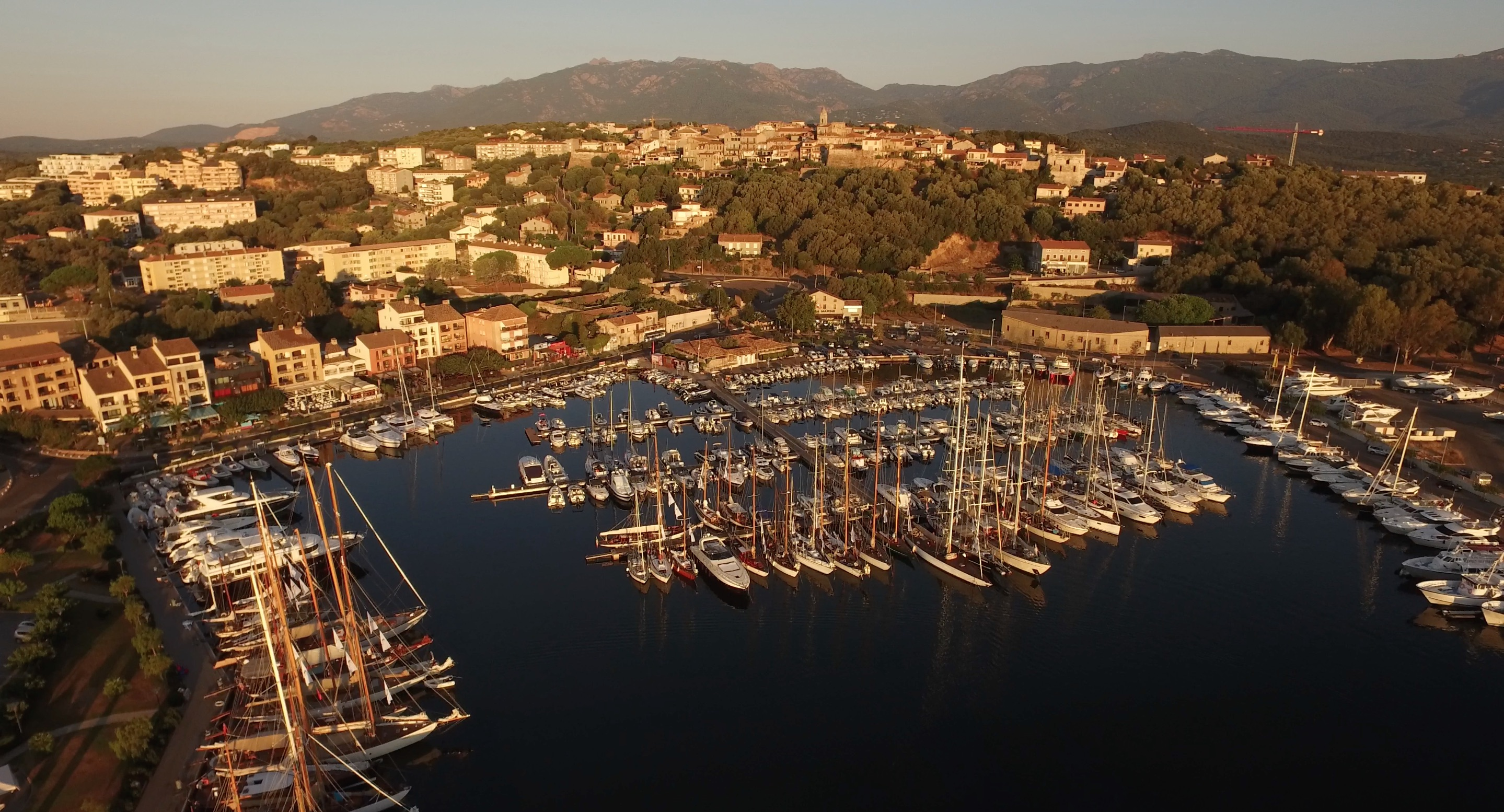 Port de Porto-Vecchio CC 2016 Photo Emmanuel Kirch by drone pilot Nicolas Di Stefano DR