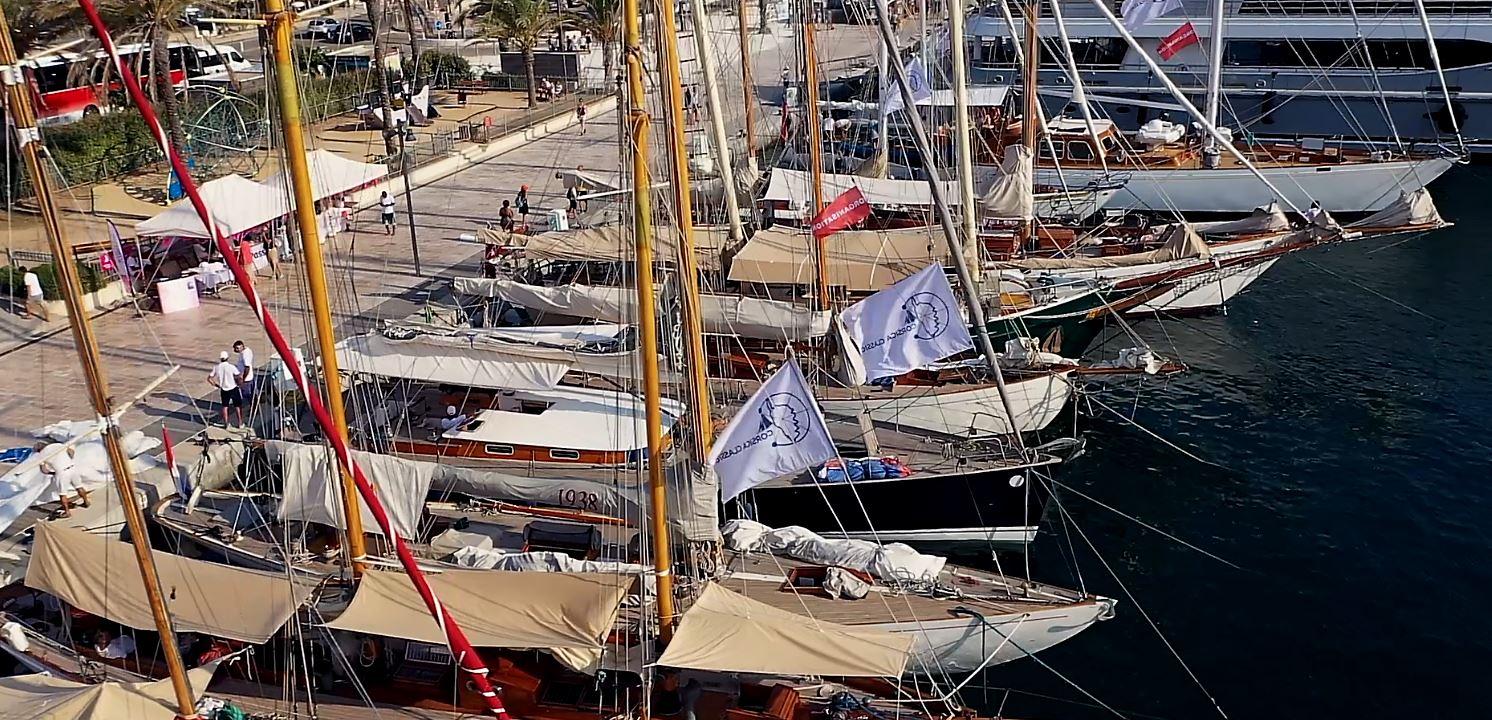 CC 2019 flotte au quai d'honneur de Bonifacio photo JP Pyrée DR