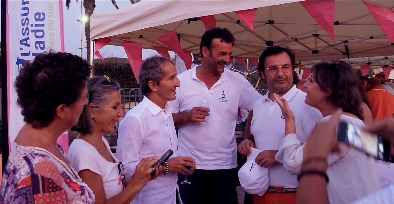 CC 2019 Régates Rose x Carole Bienvenue x Alain Prost x Glauco Cossettini X Thibaud Assante photo JP Pyrée DR