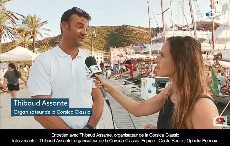 Entretien avec Thibaud Assante, organisateur de la Corsica-Classic lundi 26 août 2019