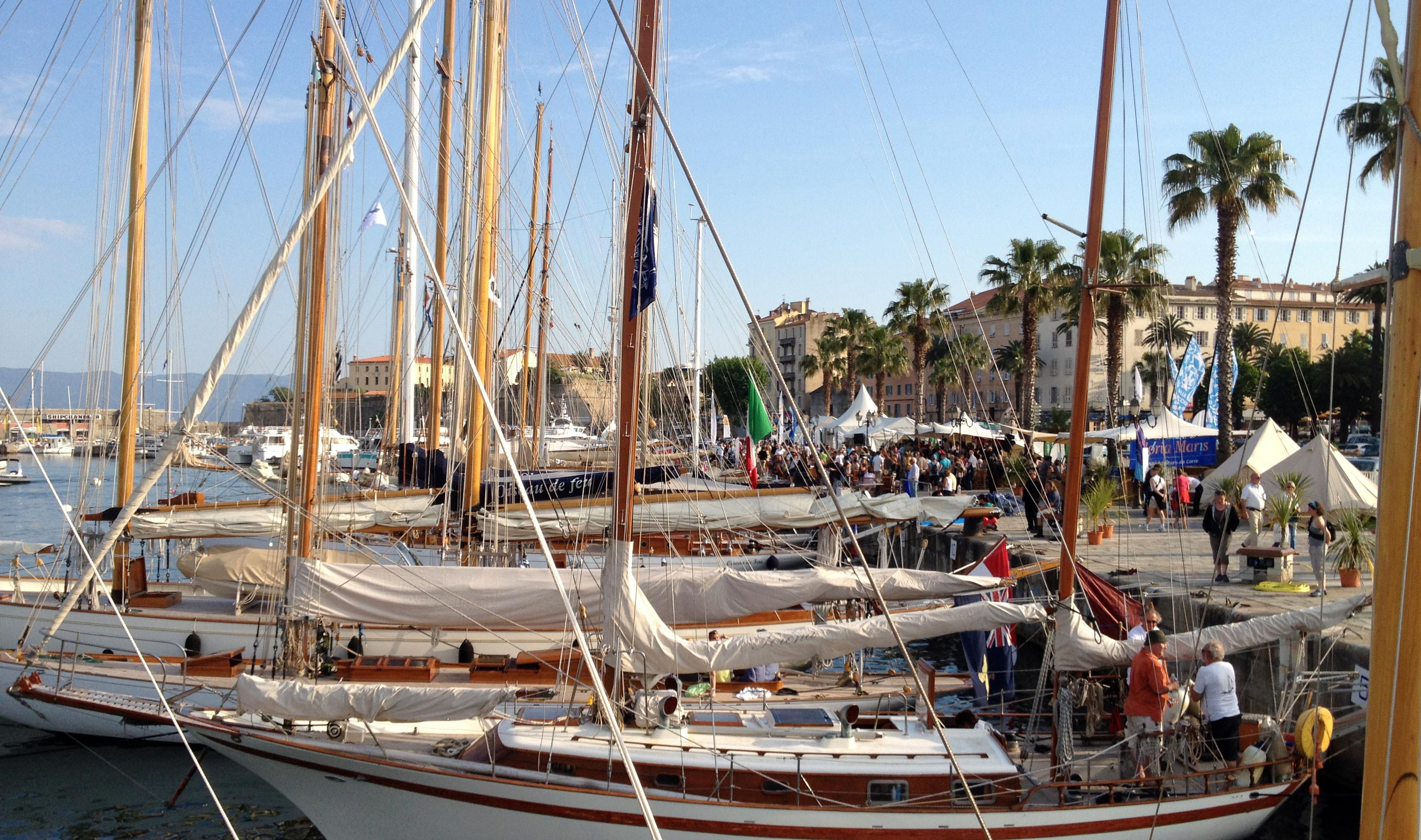 RI 2009 Quai d'honneur Brancaleoni port Tino Rossi photo Thibaud Assante DR