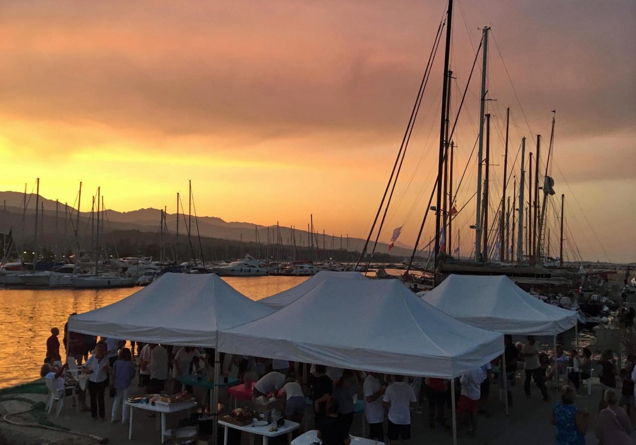Remise des prix port de Sari-Solenzara photo Thibaud Assante DR
