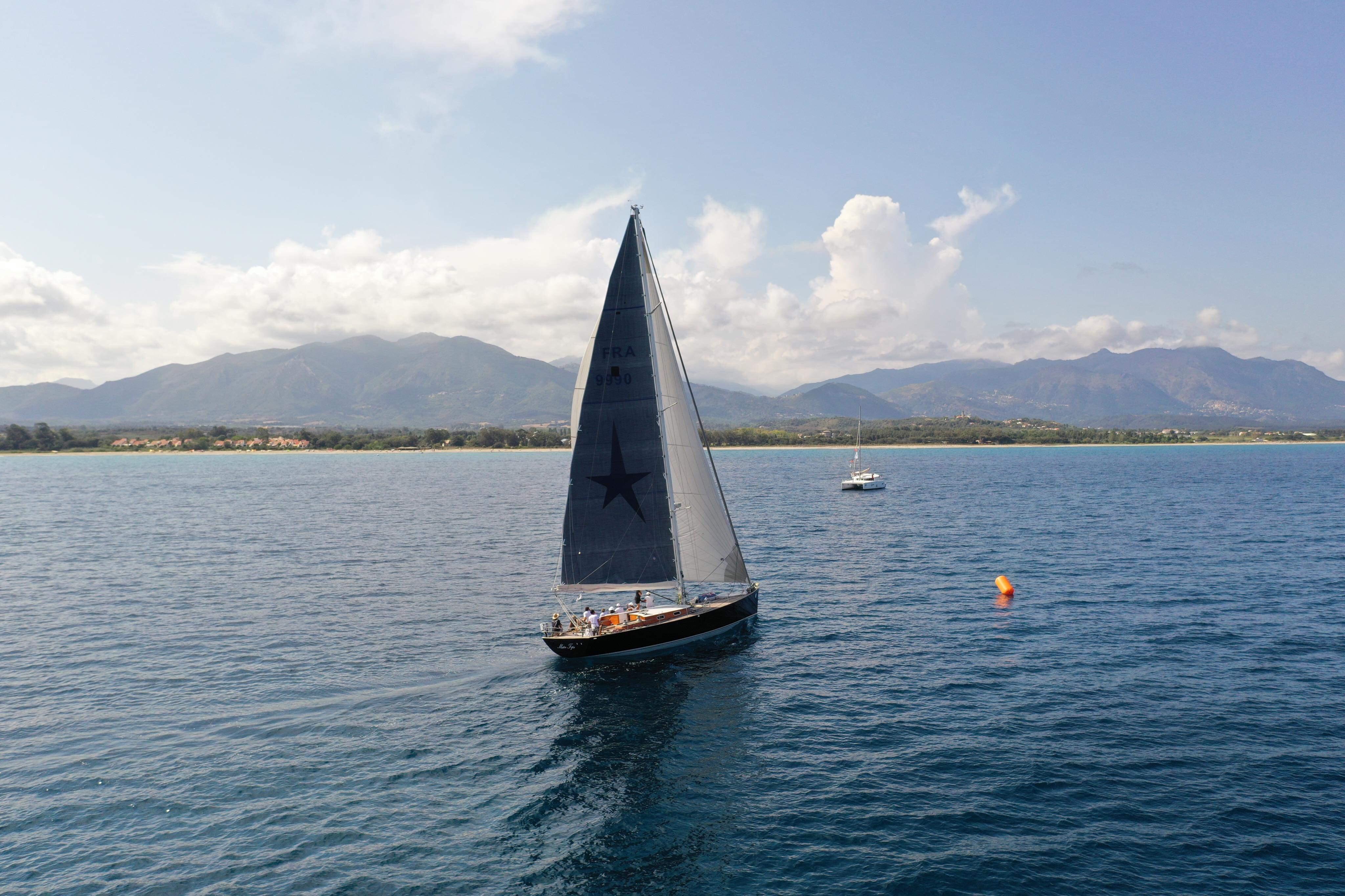 CC 2019 SY Mister Fips ligne d'arrivé Sari-Solenzara - Bastia photo JP Pyrée DR