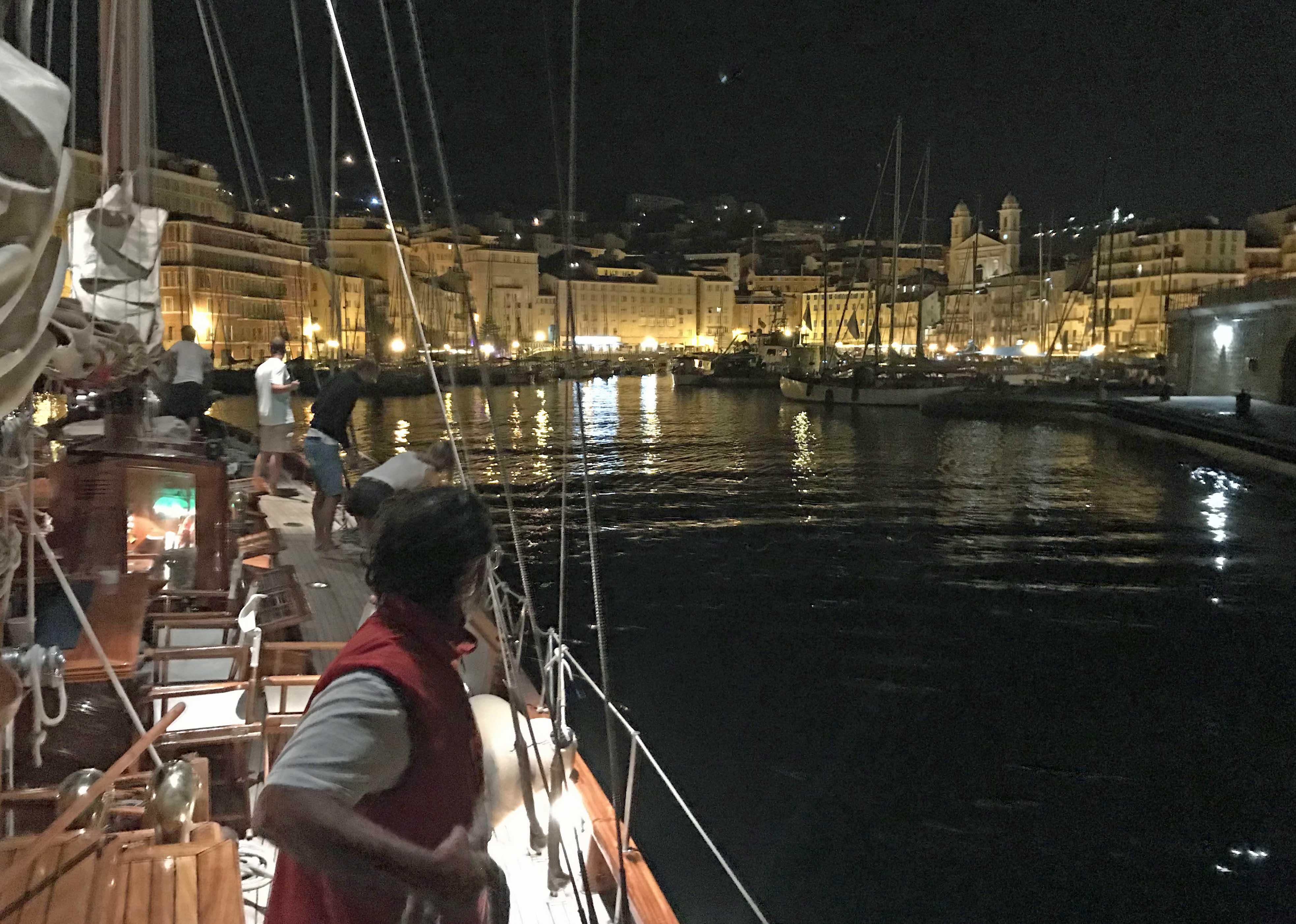 CC 2019 SY Hygie port de Bastia Vieux port  Sari-Solenzara - Bastia photo Thibaud Assante DR