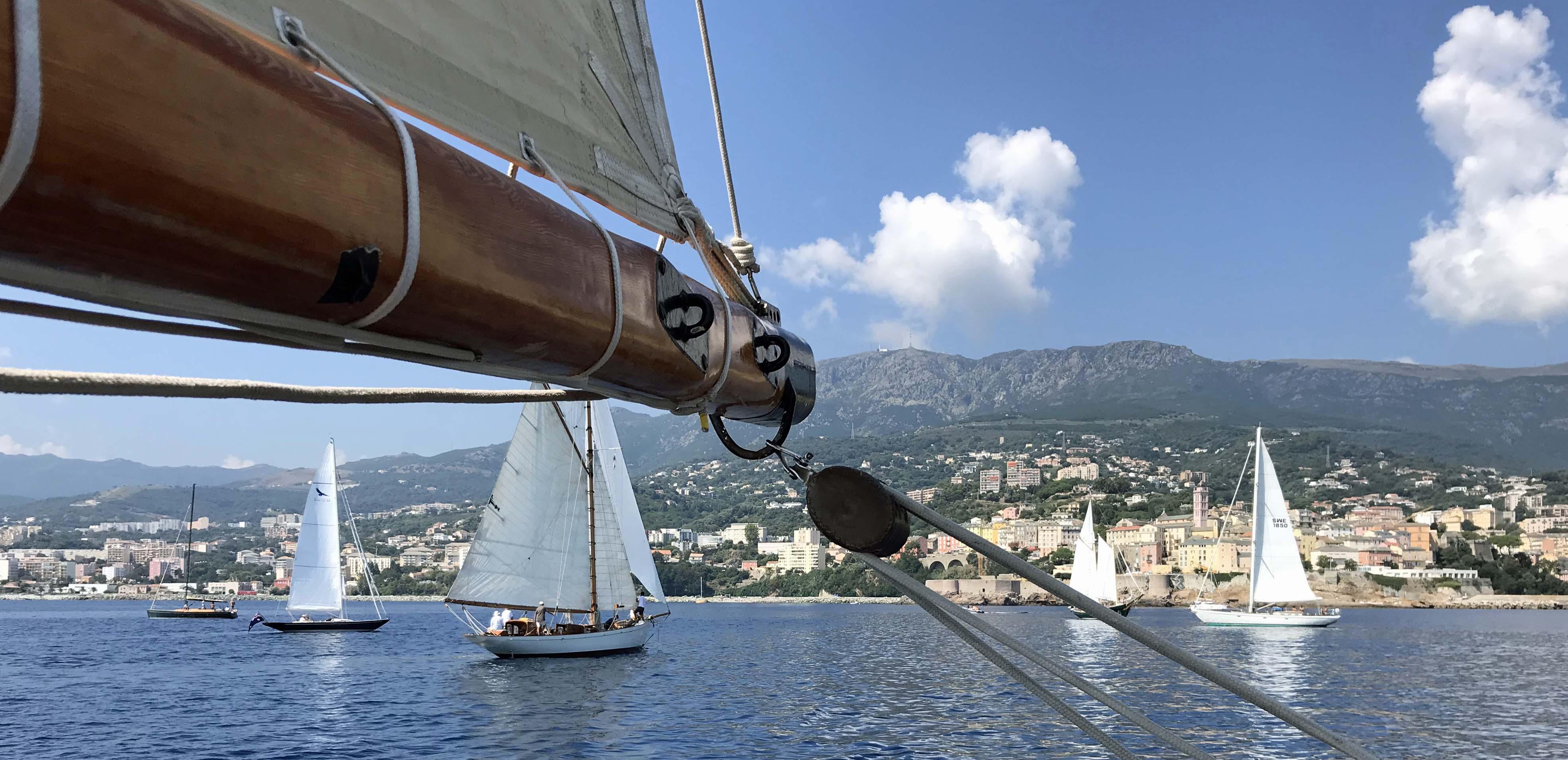 CC 2019 Procedure de départ Bastia Vieux Port - Macinaggio vendredi 30 août photo Thibaud Assante DR