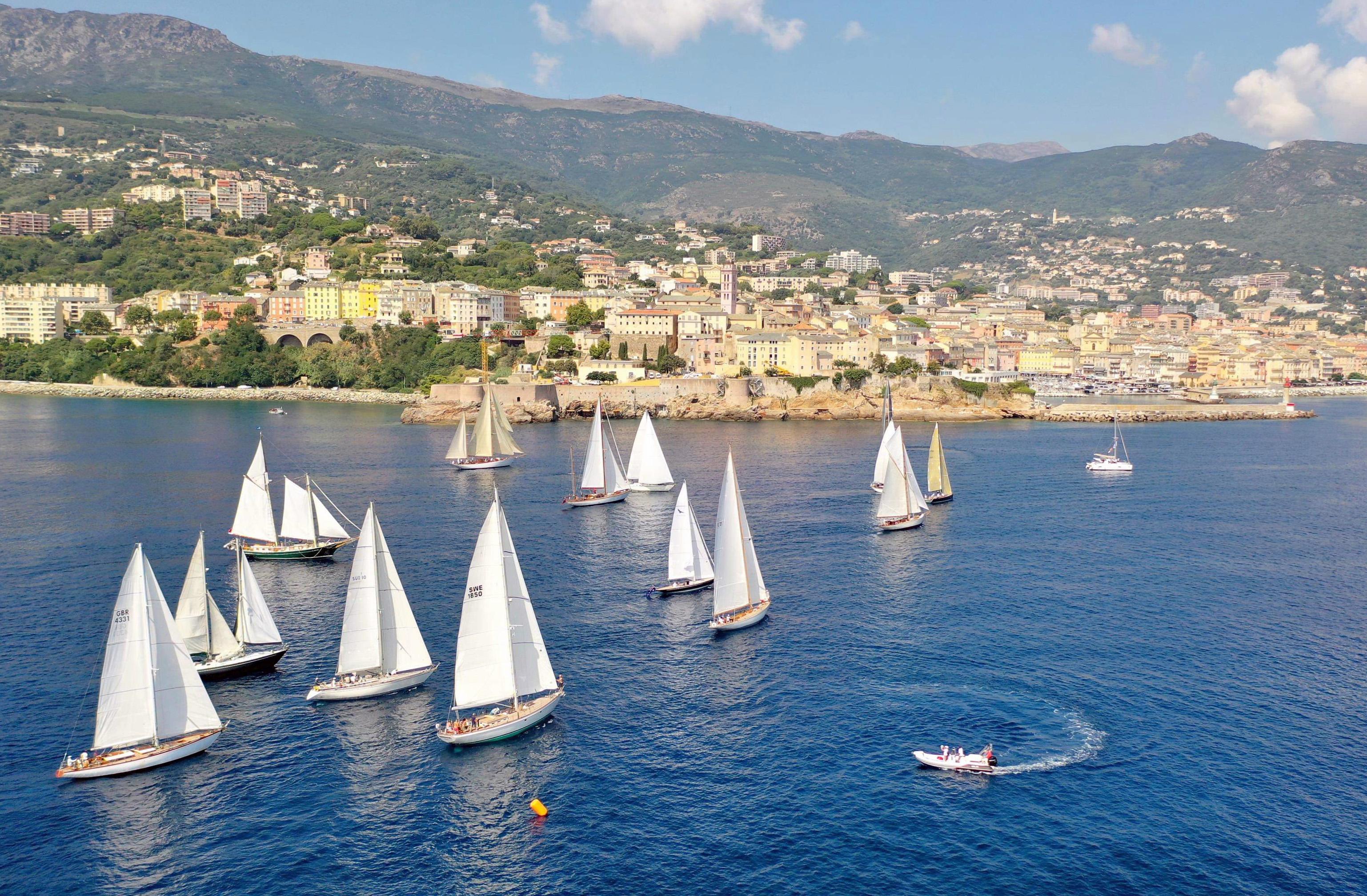 CC 2019 Départ Bastia Vieux Port - Macinaggio vendredi 30 août photo JP Pyrée DR