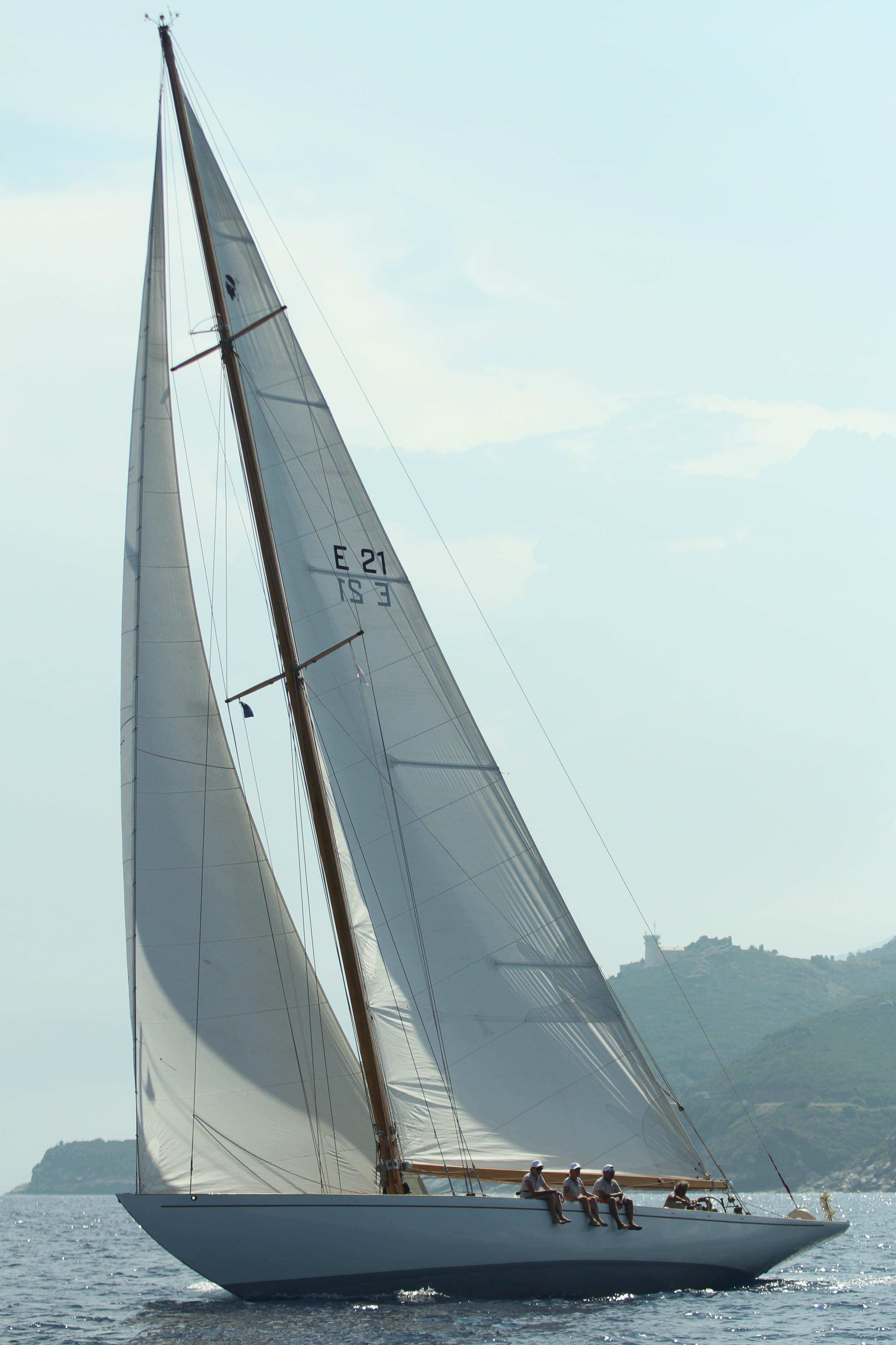 CC 2019 SY Eileen 1938 Bastia Vieux Port - Macinaggio vendredi 30 août photo Olivier Mariotti DR