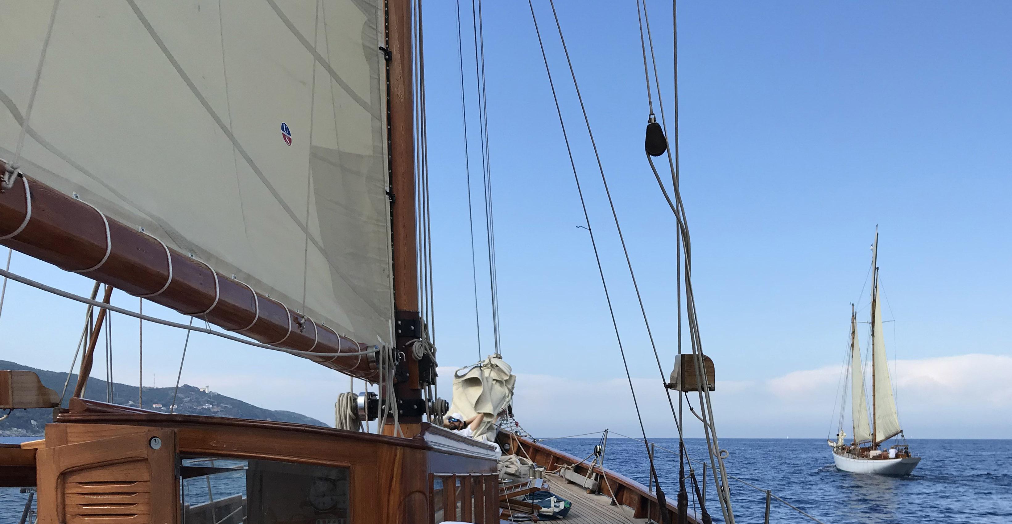 CC 2019 SY Hygie x SY Morwenna Bastia Vieux Port - Macinaggio vendredi 30 août photo Thibaud Assante DR