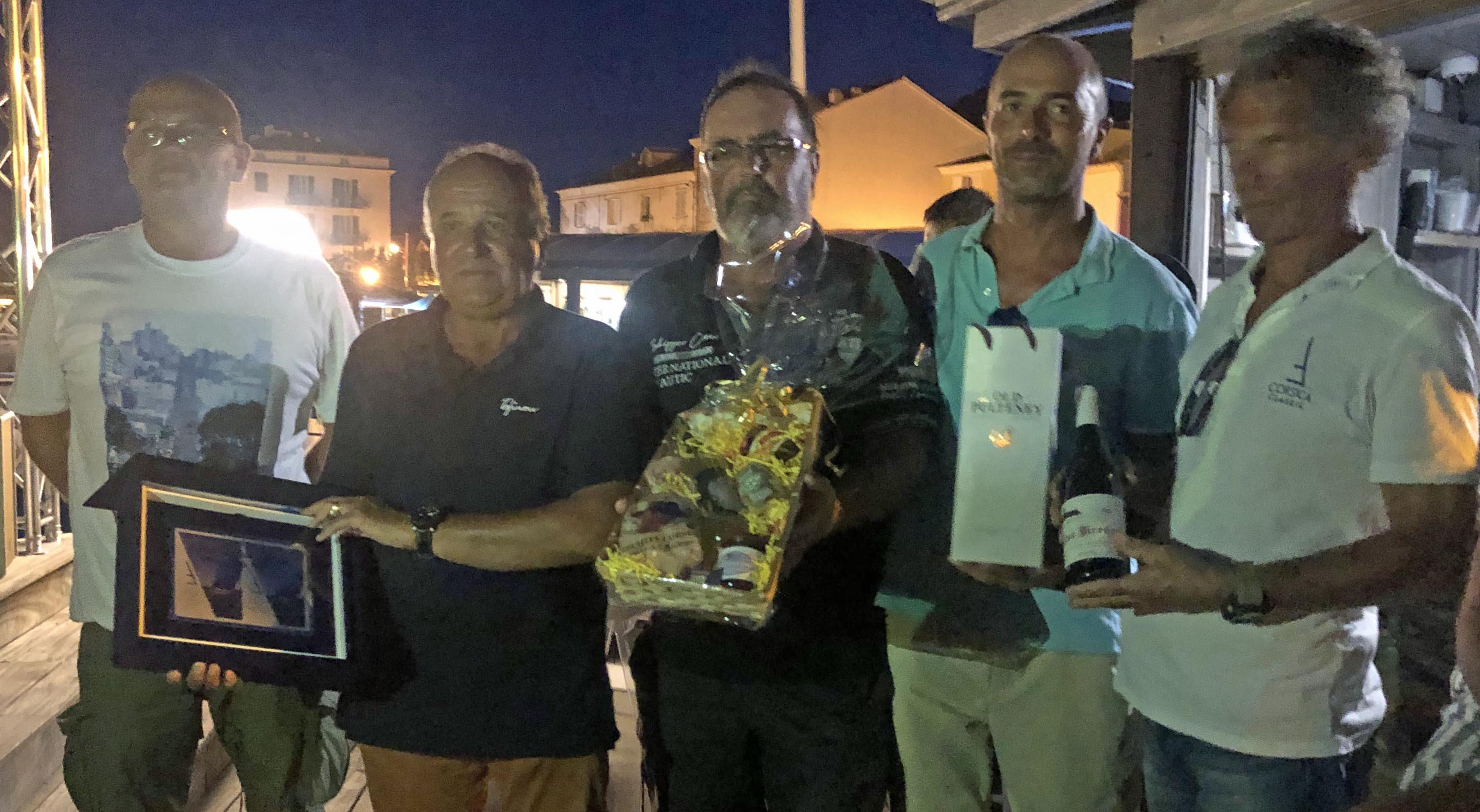 CC 2019 SY Hounbonne IV remise de prix  Macinaggio vendredi 30 août photo Katia Kulawick Assante DR