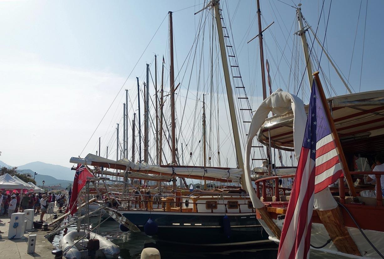 CC 2019 Port de Saint-Florent briefing skipper dimanche 1 septembre photo Juliette Olmeta DR