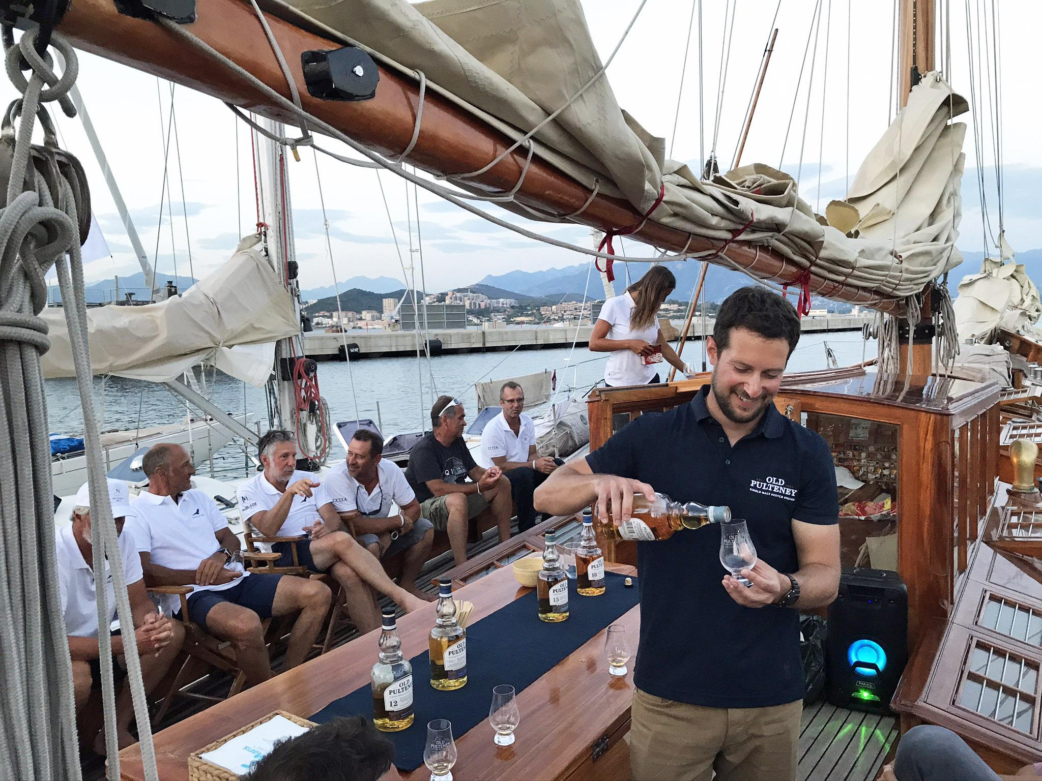 Régates Napoléon 2020 Sy Hygie master class Old Pulteney photo Thibaud Assante DR