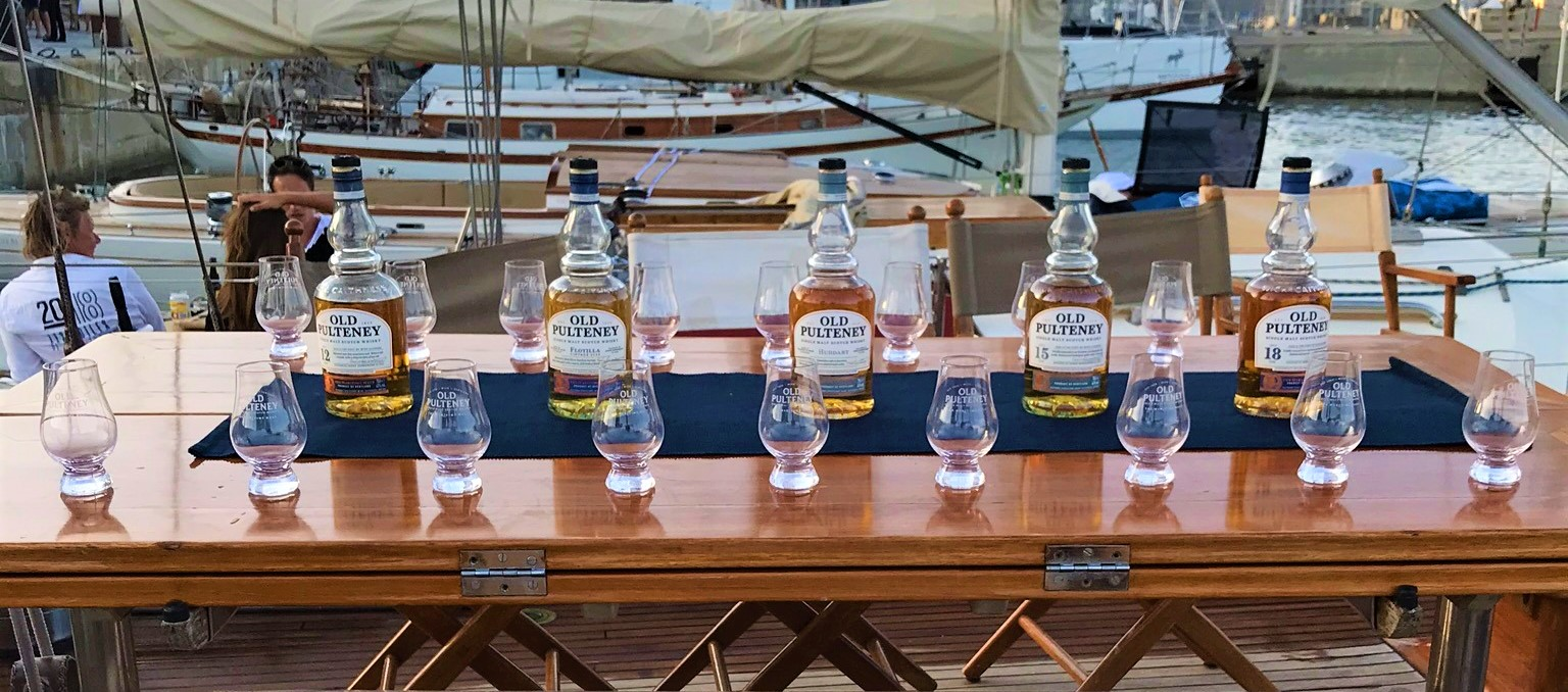Ajaccio Port Tino Rossi SY Hygie x Old Pulteney master class photo Thomas Dittière DR