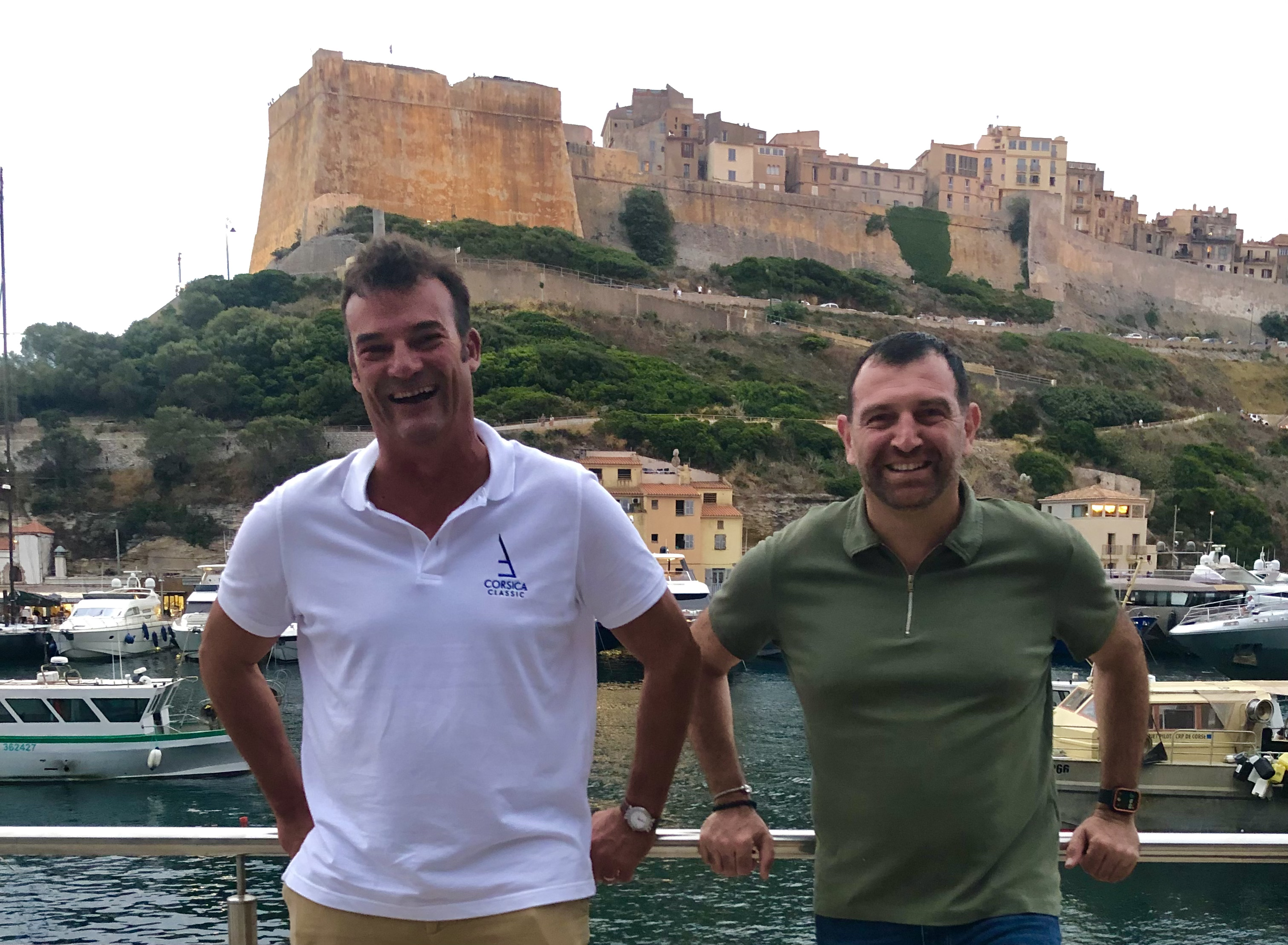Bonifacio Maison des Pêcheurs Mr le Maire Jean-Charles Orsucci Corsica Classic 2021 Photo Katia Kulawick-Assante Assante DR