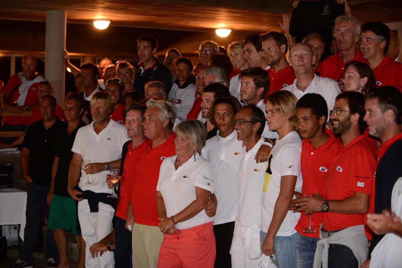 La remise des prix et le classement de la 5 ème édition de la Corsica Classic