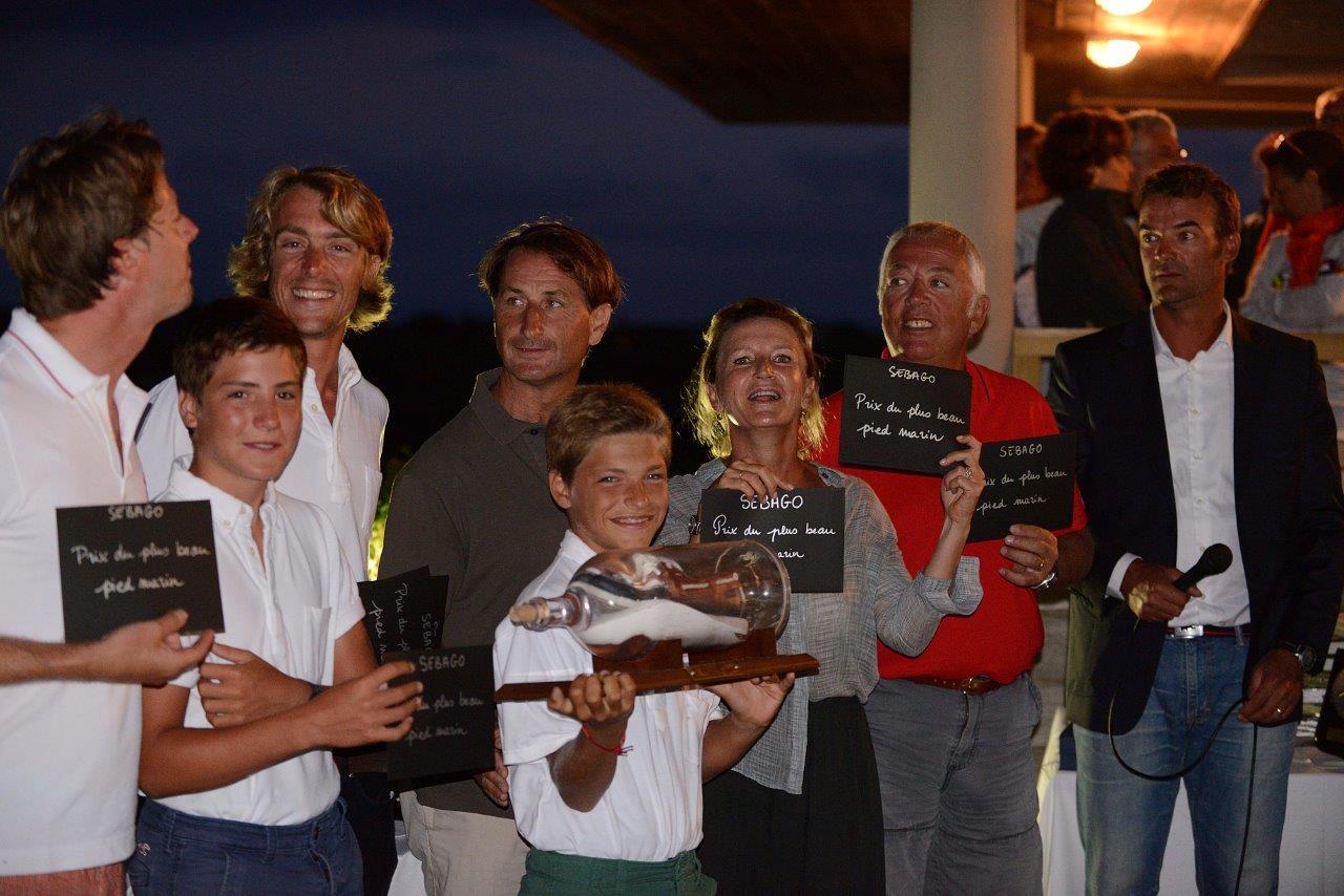 Trophée du plus beau pied marin Sebago : SY Olympian