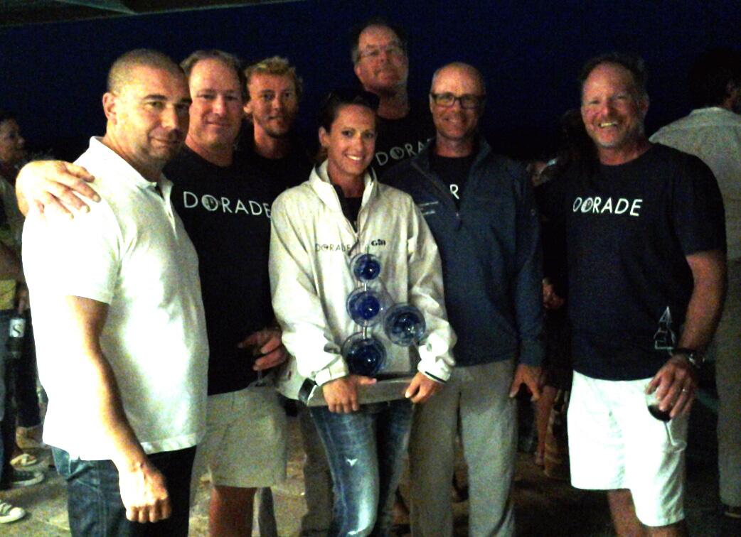Dume Campana et l'équipage de SY Dorade