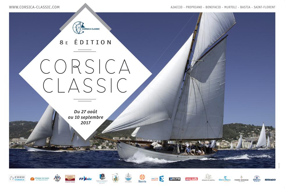 SY Vistona ligne de départ Ajaccio Corsica Classic 2016 photo Nigel Pert