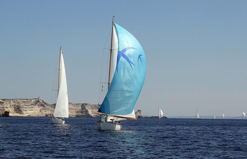 SY Skylark Bonifacio Corsica Classic 2013 photo Thibaud Assante DR