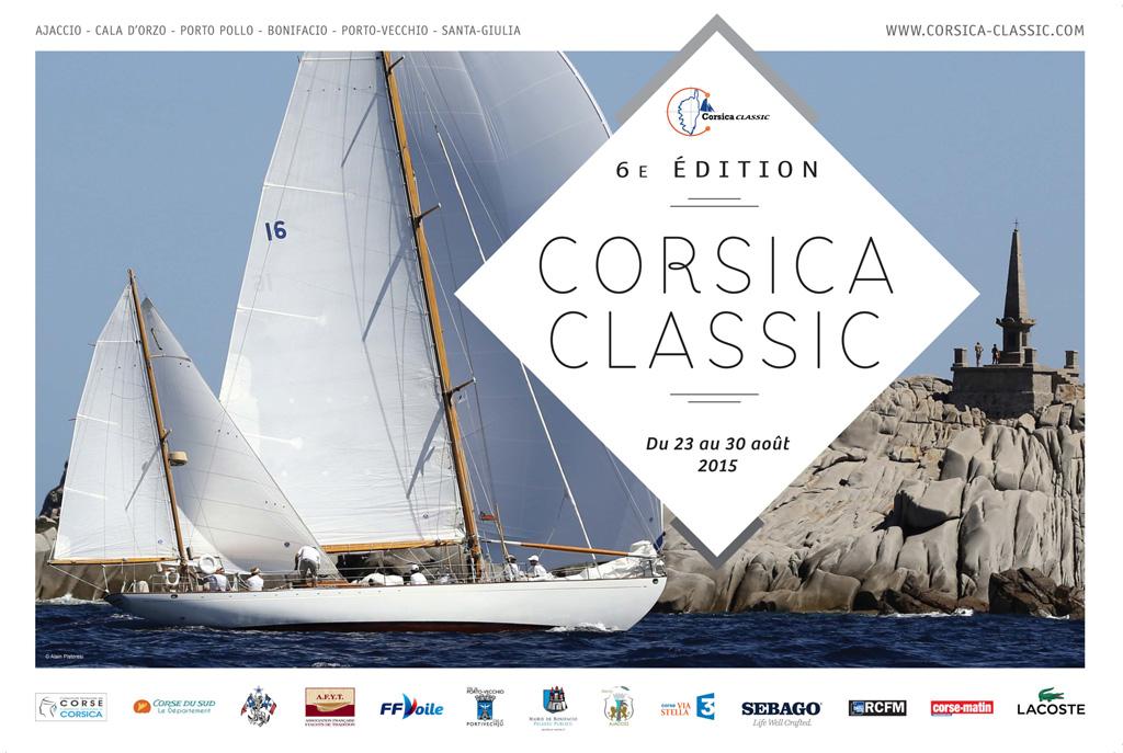 La Corsica Classic régate de yachts de tradition parrainée par le Yacht Club de France