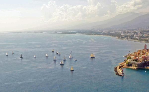Vendredi 30 août 2019 Etape Bastia Vieux Port - Macinaggio, 5ème jour de régate.