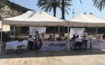 Le bureau de l'association Corsica Classic Yachting