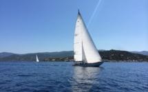 Mardi 26 août J2 Ajaccio-Cala D'Orzo l'Ambatta contrarié par le Sirocco
